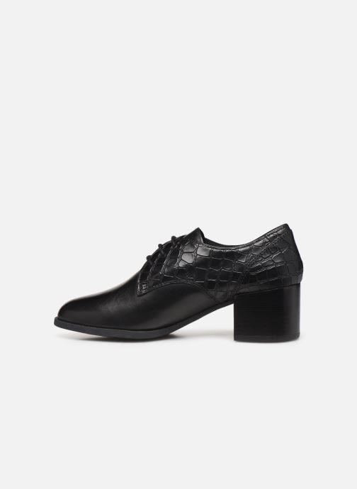 Zapatos con cordones Geox D JACY MID Negro vista de frente