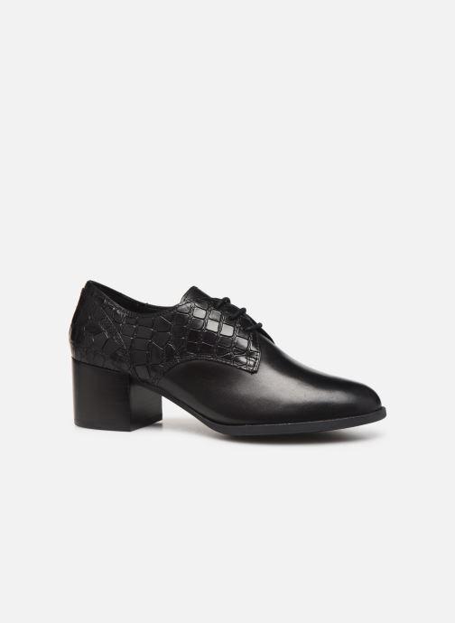 Zapatos con cordones Geox D JACY MID Negro vistra trasera