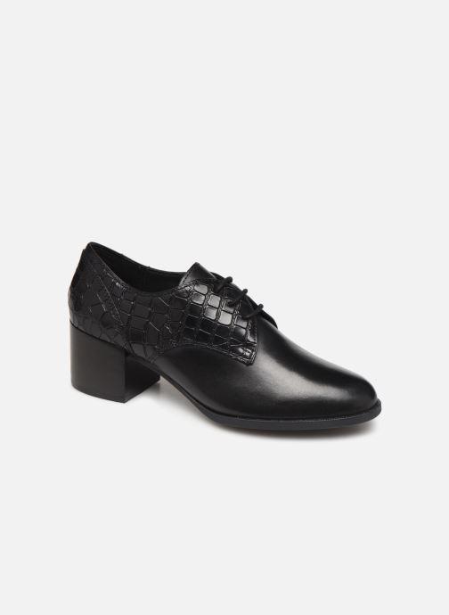Chaussures à lacets Geox D JACY MID Noir vue détail/paire