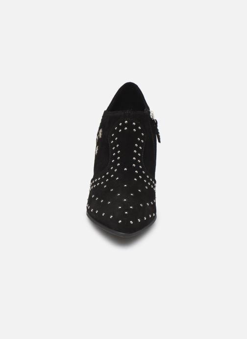 Boots en enkellaarsjes Geox D PEYTHON HIGH Zwart model