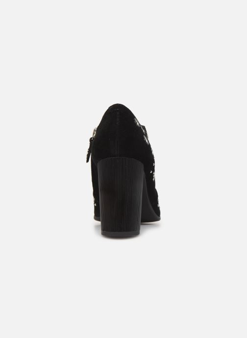 Boots en enkellaarsjes Geox D PEYTHON HIGH Zwart rechts