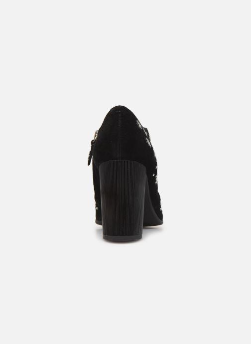 Stiefeletten & Boots Geox D PEYTHON HIGH schwarz ansicht von rechts