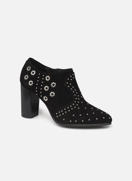 Boots en enkellaarsjes Geox D PEYTHON HIGH Zwart detail