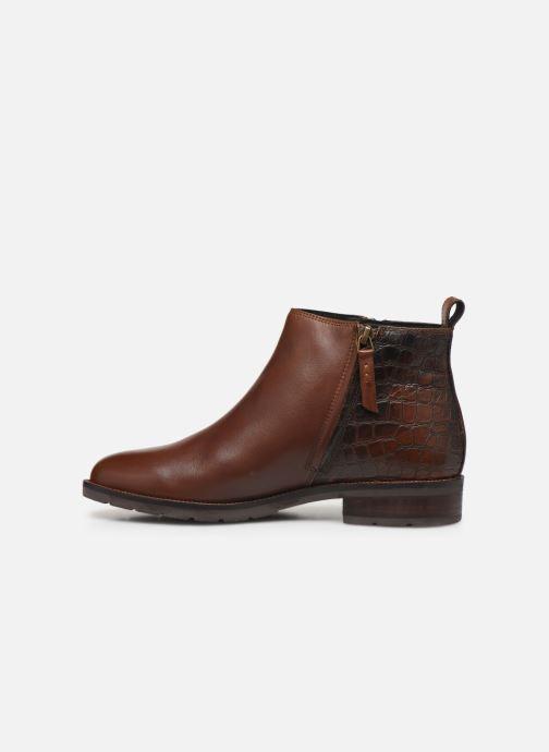 Boots en enkellaarsjes Geox D BETTANIE boots Bruin voorkant