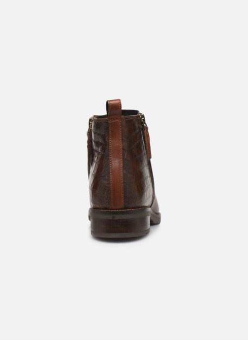 Ankle boots Geox D BETTANIE boots Brown view from the right
