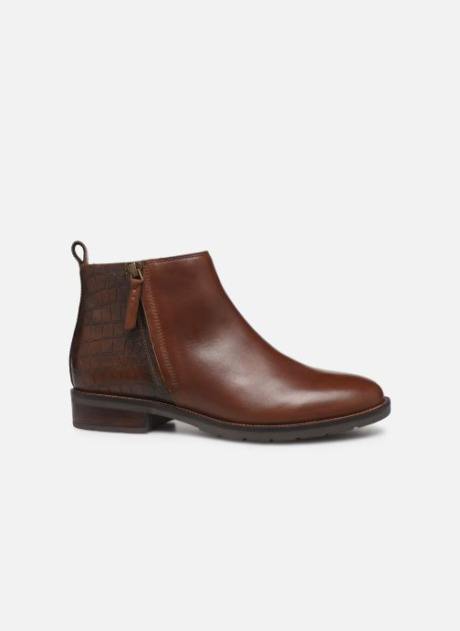 Ankle boots Geox D BETTANIE boots Brown back view