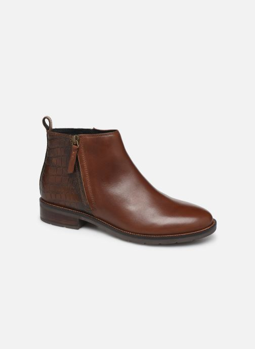 Ankle boots Geox D BETTANIE boots Brown detailed view/ Pair view