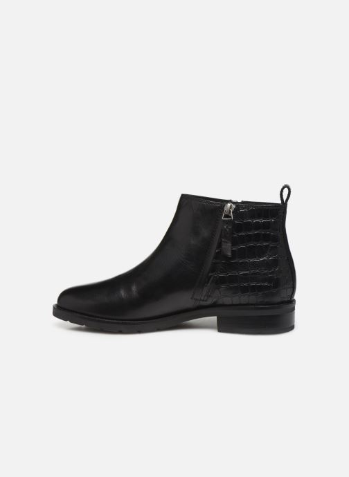 Ankle boots Geox D BETTANIE 3 Black front view
