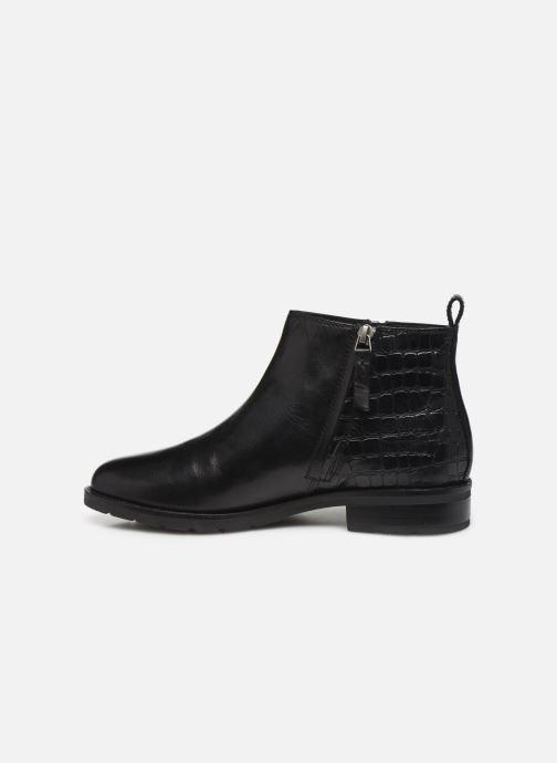 Bottines et boots Geox D BETTANIE 3 Noir vue face