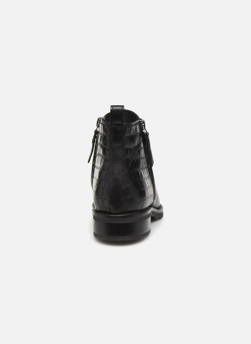 Ankle boots Geox D BETTANIE 3 Black view from the right