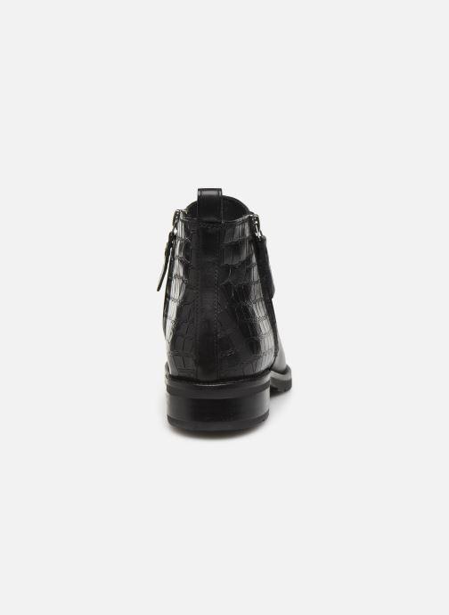 Bottines et boots Geox D BETTANIE 3 Noir vue droite