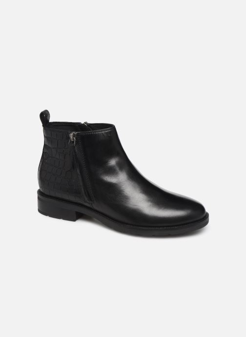 Ankle boots Geox D BETTANIE 3 Black detailed view/ Pair view