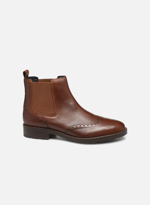 Boots en enkellaarsjes Geox D BETTANIE 3 Bruin achterkant