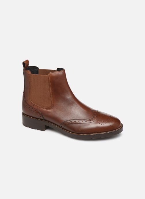 Boots en enkellaarsjes Geox D BETTANIE 3 Bruin detail