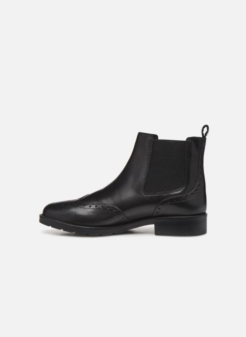 Ankle boots Geox D BETTANIE 4 Black front view