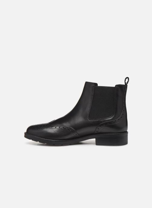 Bottines et boots Geox D BETTANIE 4 Noir vue face