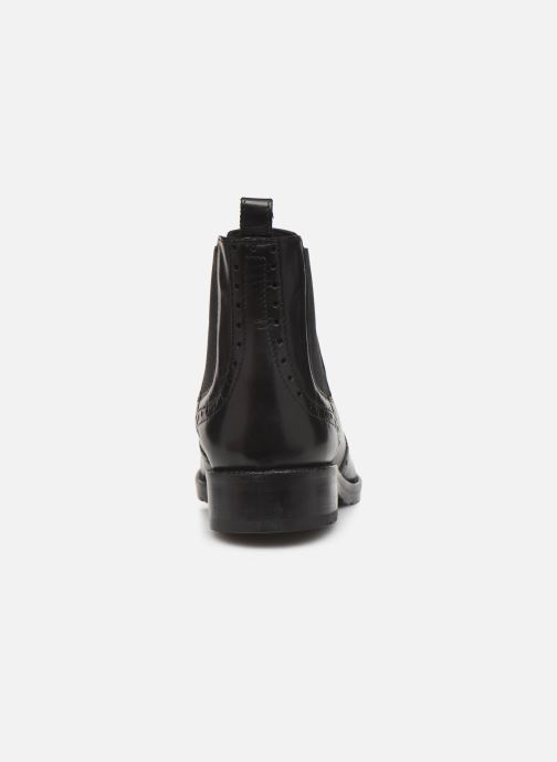 Ankle boots Geox D BETTANIE 4 Black view from the right
