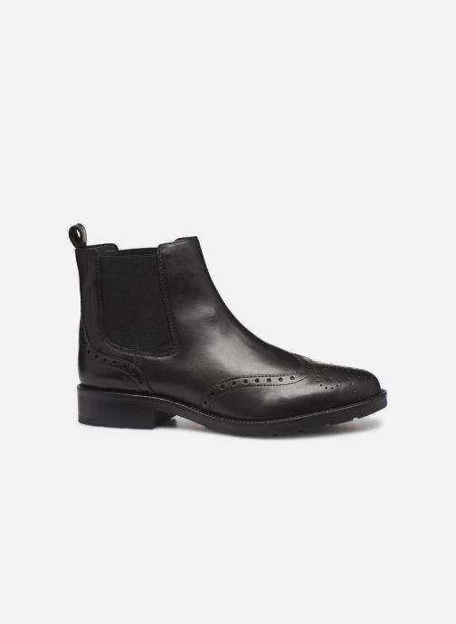 Boots en enkellaarsjes Geox D BETTANIE 4 Zwart achterkant