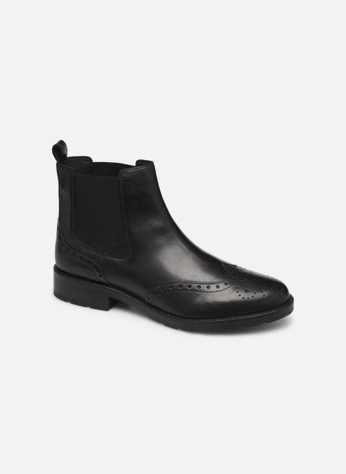 Boots en enkellaarsjes Geox D BETTANIE 4 Zwart detail