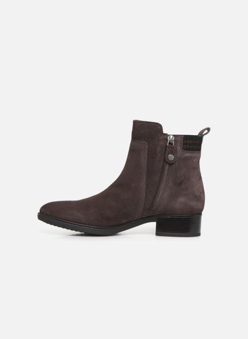 Boots en enkellaarsjes Geox D FELICITY Bruin voorkant