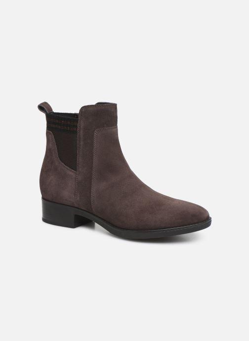 Boots en enkellaarsjes Geox D FELICITY Bruin detail
