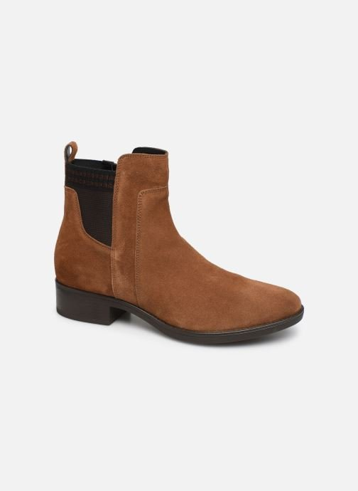 Ankle boots Geox D FELICITY Brown detailed view/ Pair view
