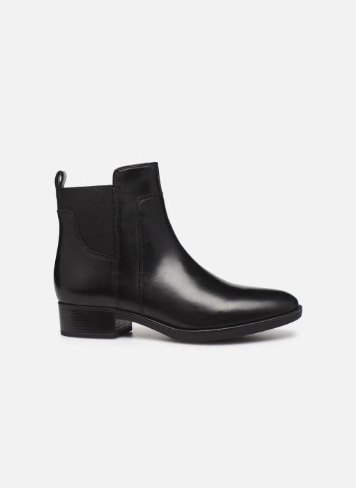 Boots en enkellaarsjes Geox D FELICITY Zwart achterkant