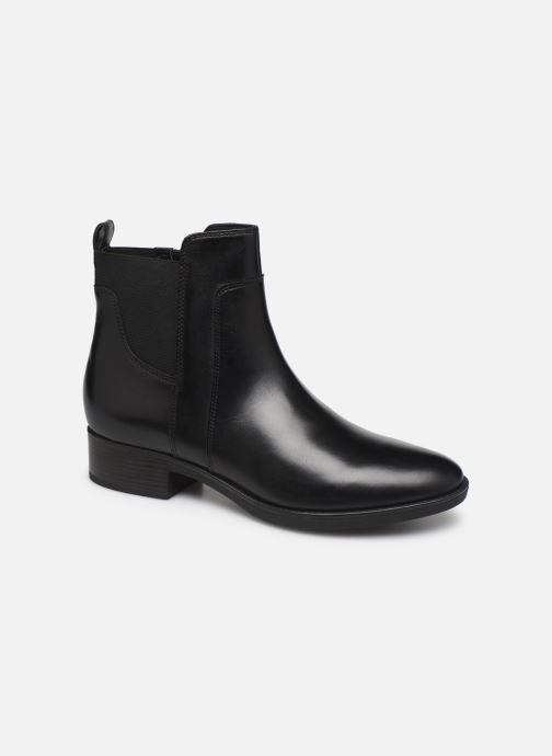 Boots en enkellaarsjes Geox D FELICITY Zwart detail