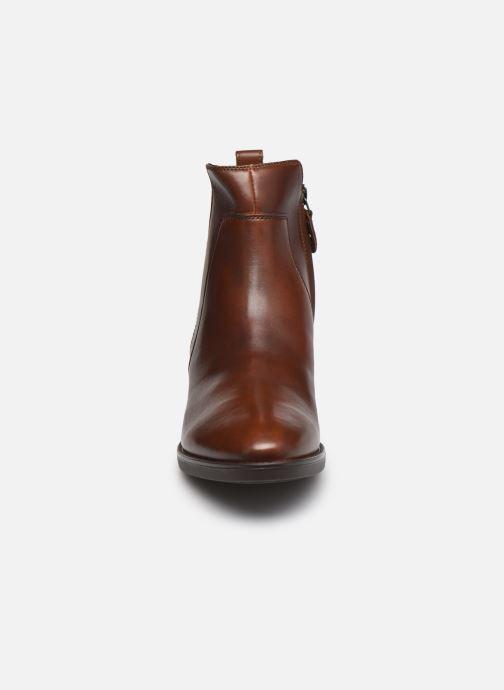 Stiefeletten & Boots Geox D FELICITY braun schuhe getragen