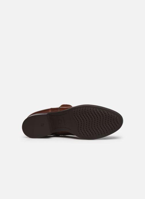 Stiefeletten & Boots Geox D FELICITY braun ansicht von oben
