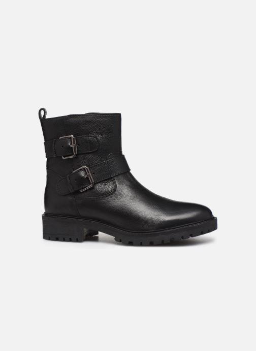 Bottines et boots Geox D HOARA Noir vue derrière