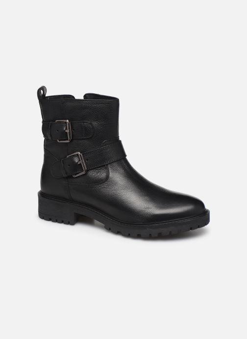 Bottines et boots Geox D HOARA Noir vue détail/paire