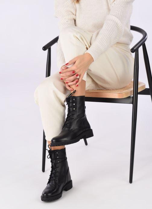 Stiefeletten & Boots Geox D HOARA 2 schwarz ansicht von unten / tasche getragen
