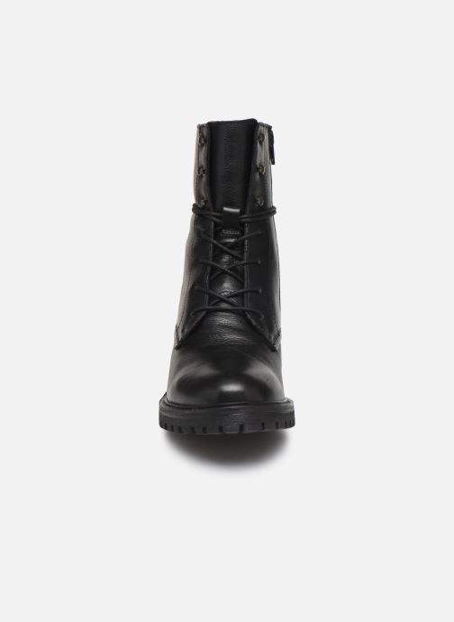 Stiefeletten & Boots Geox D HOARA 2 schwarz schuhe getragen