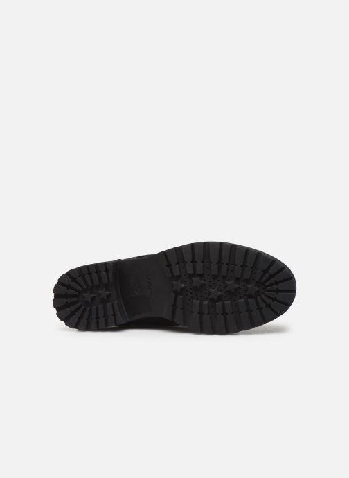 Boots en enkellaarsjes Geox D HOARA 2 Zwart boven