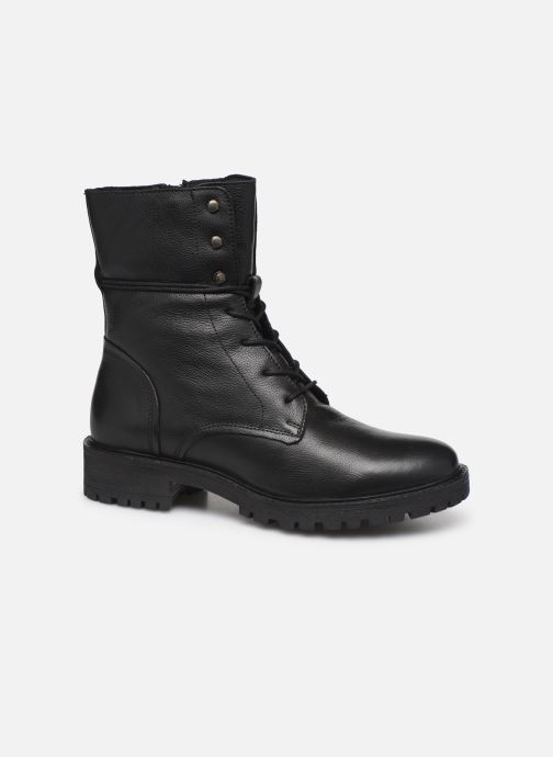 Boots en enkellaarsjes Geox D HOARA 2 Zwart detail