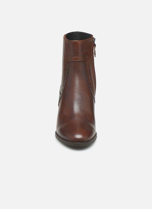 Bottines et boots Geox D JACY HIGH  2 Marron vue portées chaussures