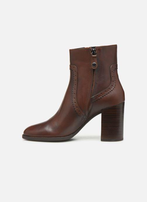 Bottines et boots Geox D JACY HIGH  2 Marron vue face