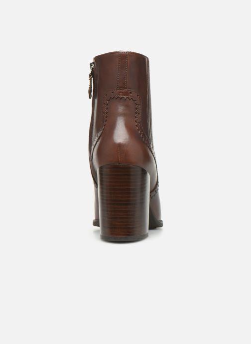 Bottines et boots Geox D JACY HIGH  2 Marron vue droite