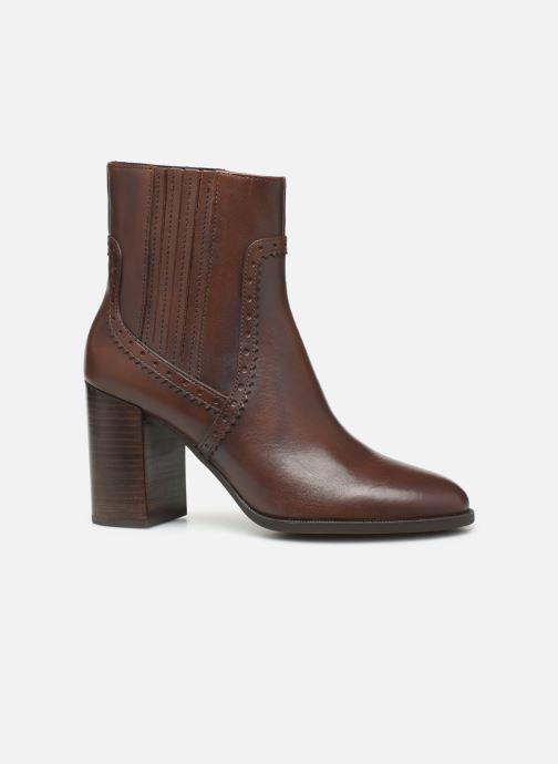 Bottines et boots Geox D JACY HIGH  2 Marron vue derrière