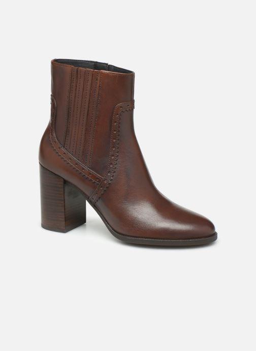 Bottines et boots Geox D JACY HIGH  2 Marron vue détail/paire