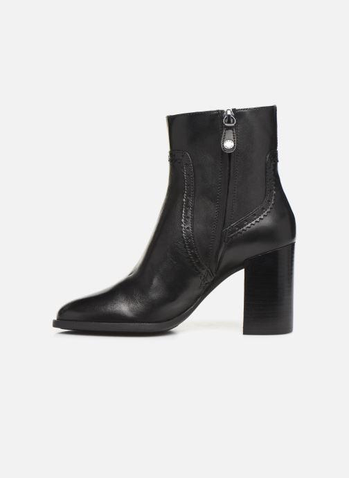 Boots en enkellaarsjes Geox D JACY HIGH  2 Zwart voorkant