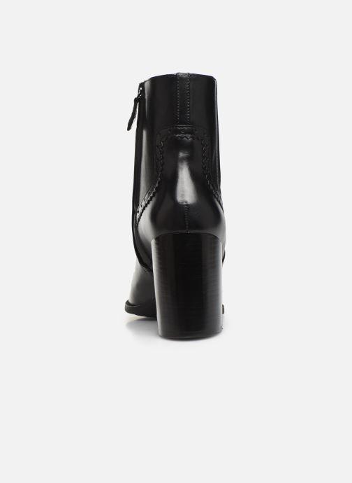 Bottines et boots Geox D JACY HIGH  2 Noir vue droite
