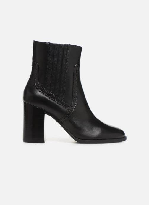 Boots en enkellaarsjes Geox D JACY HIGH  2 Zwart achterkant