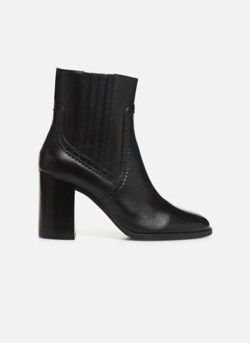 Bottines et boots Geox D JACY HIGH  2 Noir vue derrière