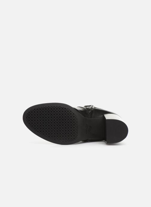Boots en enkellaarsjes Geox D JACY HIGH  2 Zwart boven
