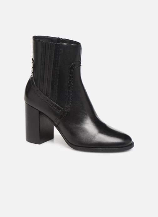 Boots en enkellaarsjes Geox D JACY HIGH  2 Zwart detail