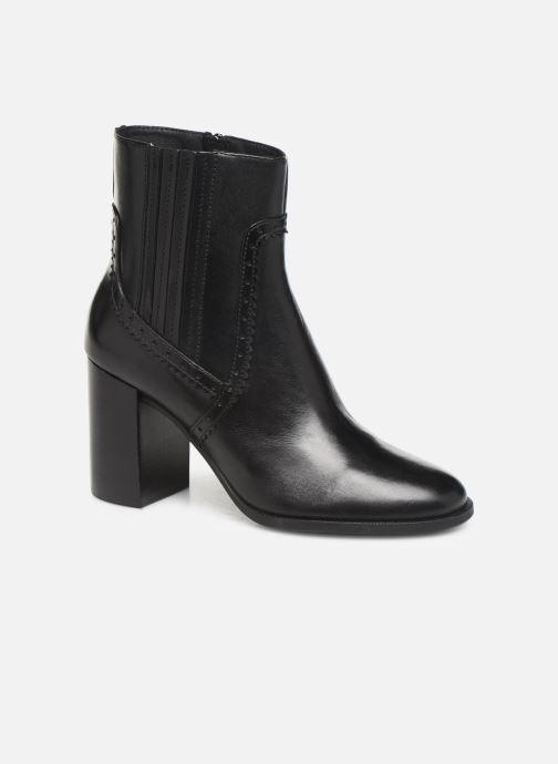 Bottines et boots Geox D JACY HIGH  2 Noir vue détail/paire