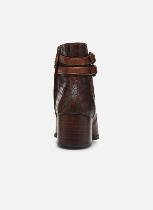 Boots en enkellaarsjes Geox D JACY MID 2 Bruin rechts