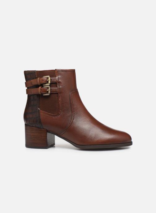 Boots en enkellaarsjes Geox D JACY MID 2 Bruin achterkant